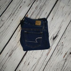 American Eagle Super Stretch Artist Jeans Sz 4